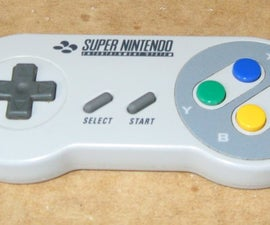 Making a Nintendo SNES controller into bluetooth; using an MSI BGP100
