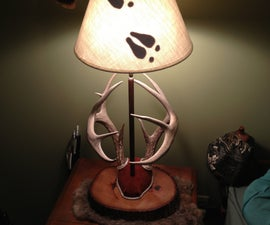 DIY: Antler Mount Lamp