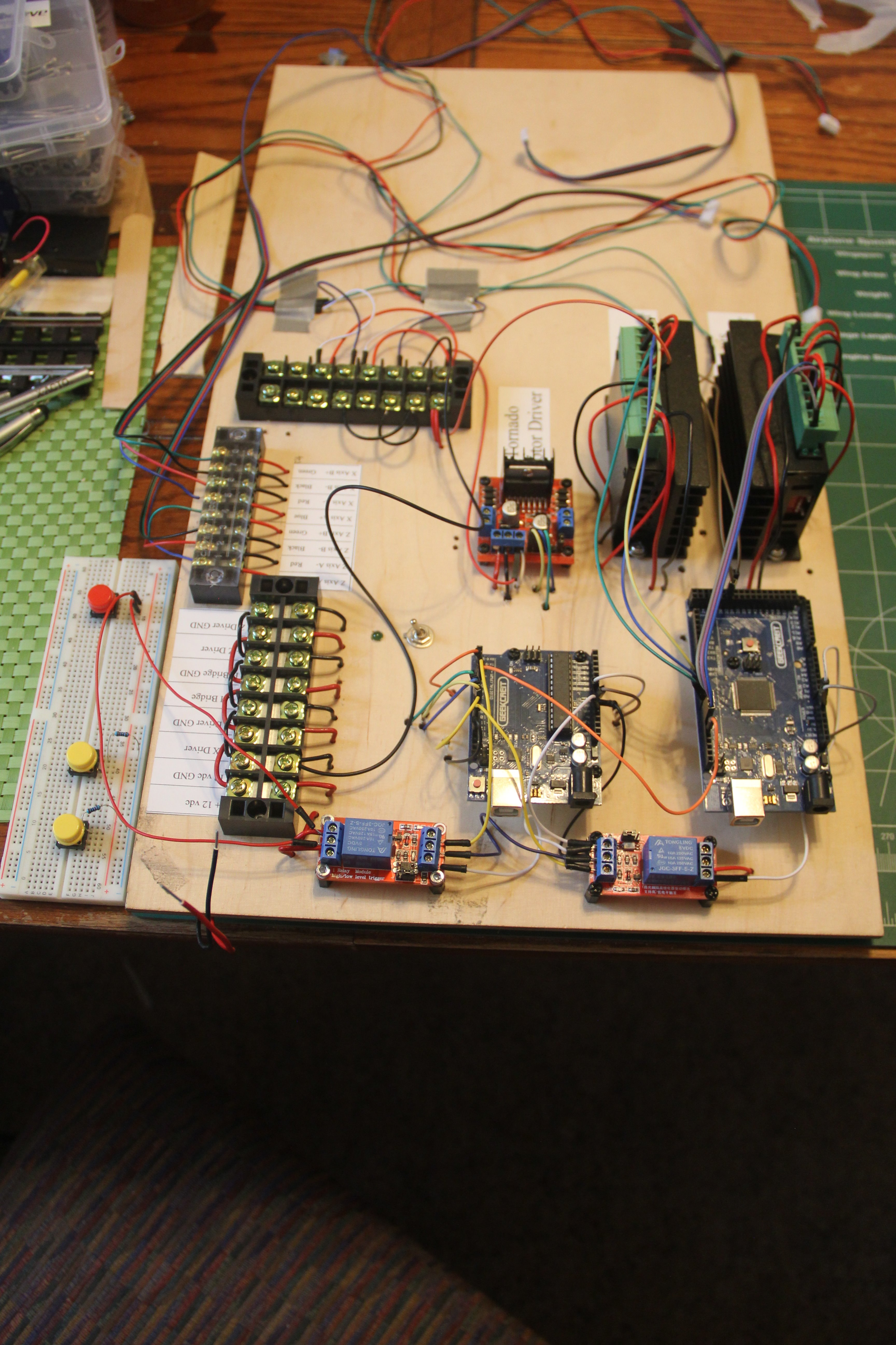 Picture of Using Arduino Micro Controllers to Animate the Movement