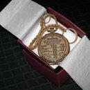 Cardboard Pocketwatch