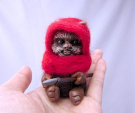 Ewok Star Wars Art Doll