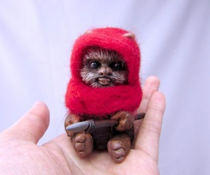 Ewok Star Wars Art Doll