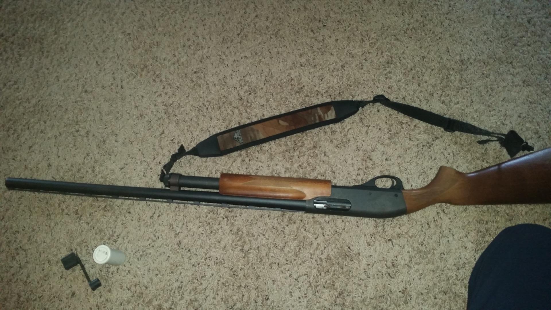 Picture of Changing a Remington Shotgun Choke