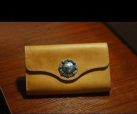 How to Make Leather Long Wallet