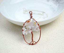 Necklace designs-mothers day necklace with the ingenious tree of life pendant
