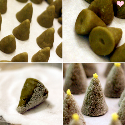 Picture of Green Tea Tree Cookies