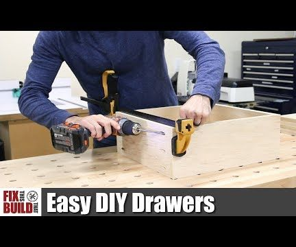 6 Easy Steps to Make Drawers