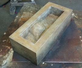 Making a sand cast bronze sculpture