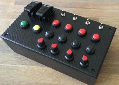 Sim Racing Button Box