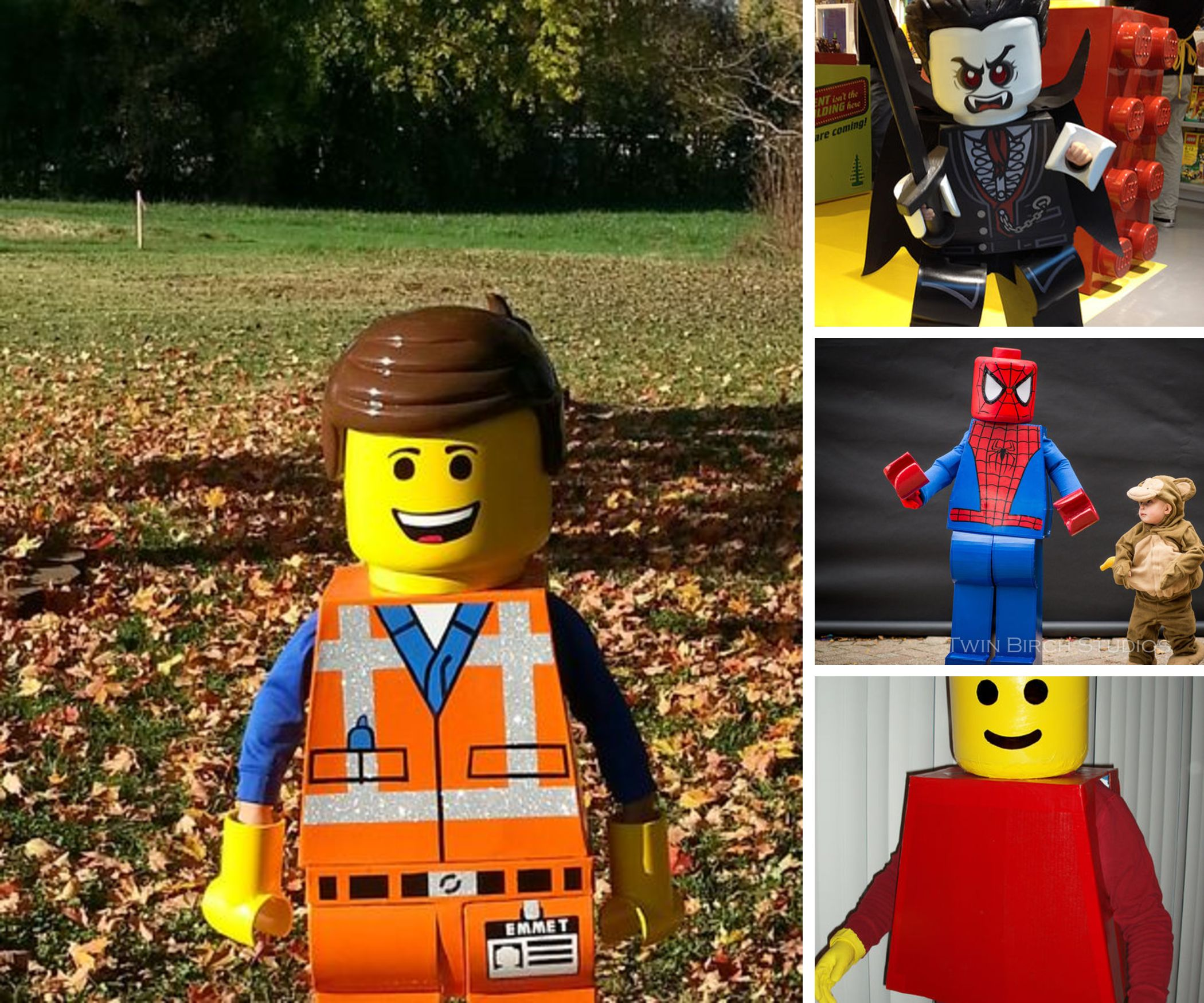 DIY Lego Minifigure Costumes