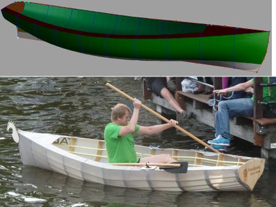 Fab Your Own Rowboat From Cheap Pvc Tubing, Tent Fabric and Underlayment ($70!)