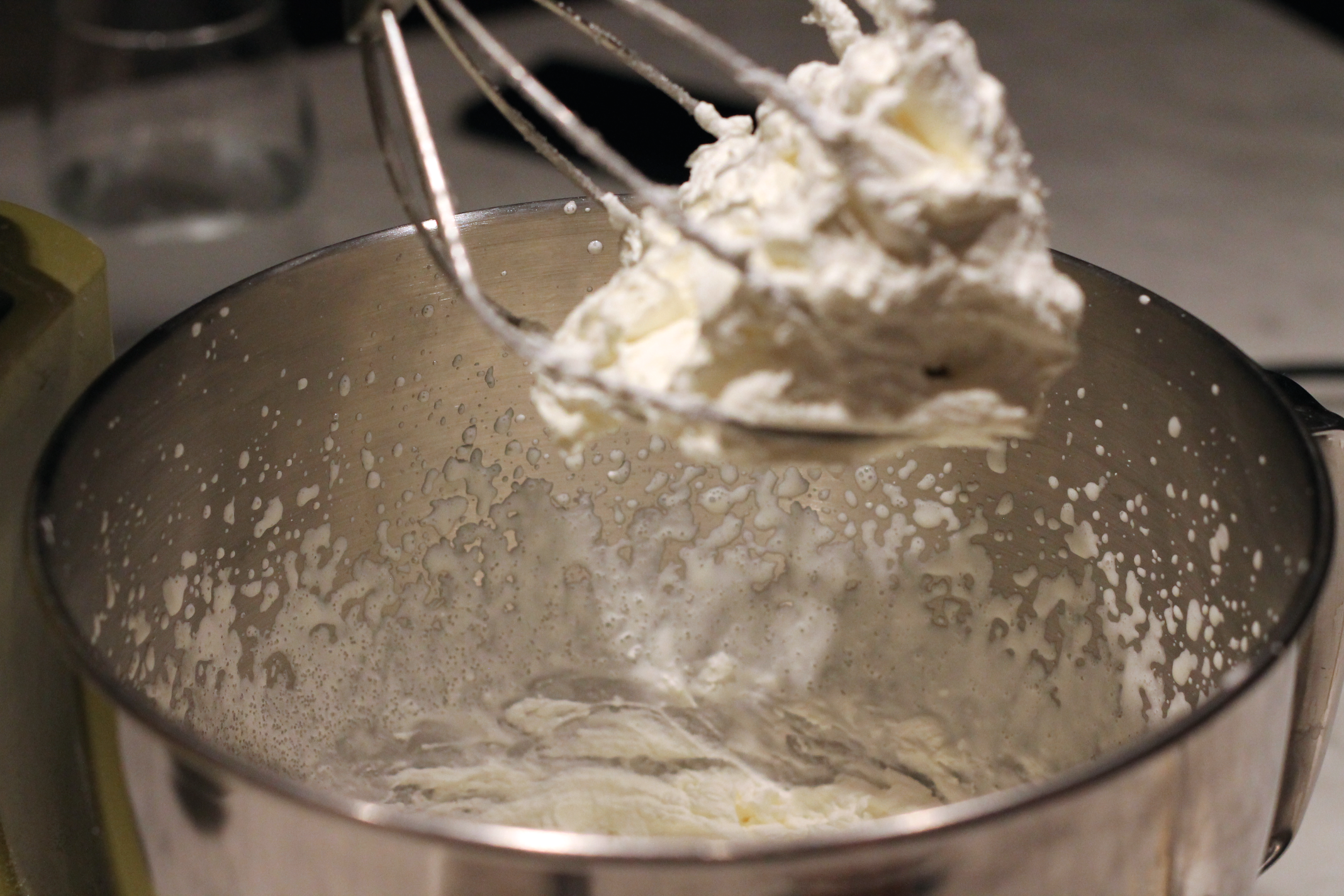 Picture of Preparing the Whipped Cream