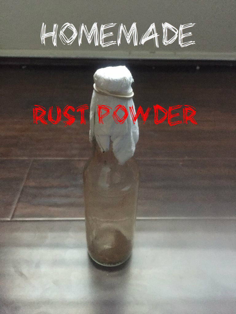 Picture of Homemade Rust Powder