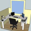 Computer Control Center - a DIY workspace (in progress)