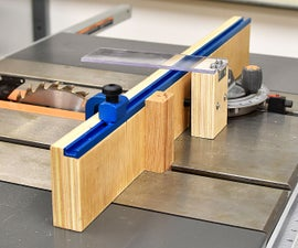 How to Make a Simple Crosscut Jig