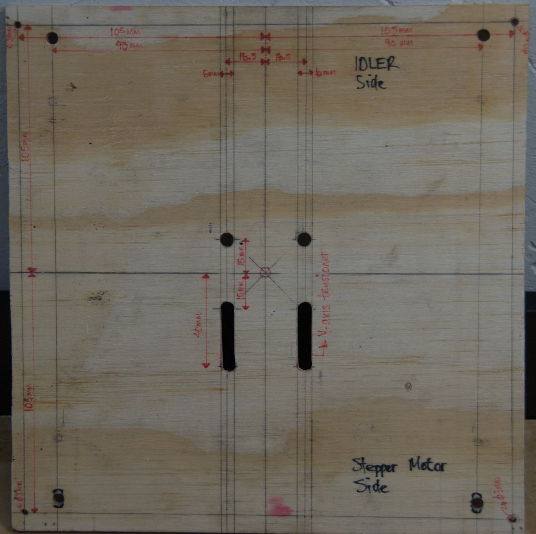 Picture of Print Bed: Plywood Body