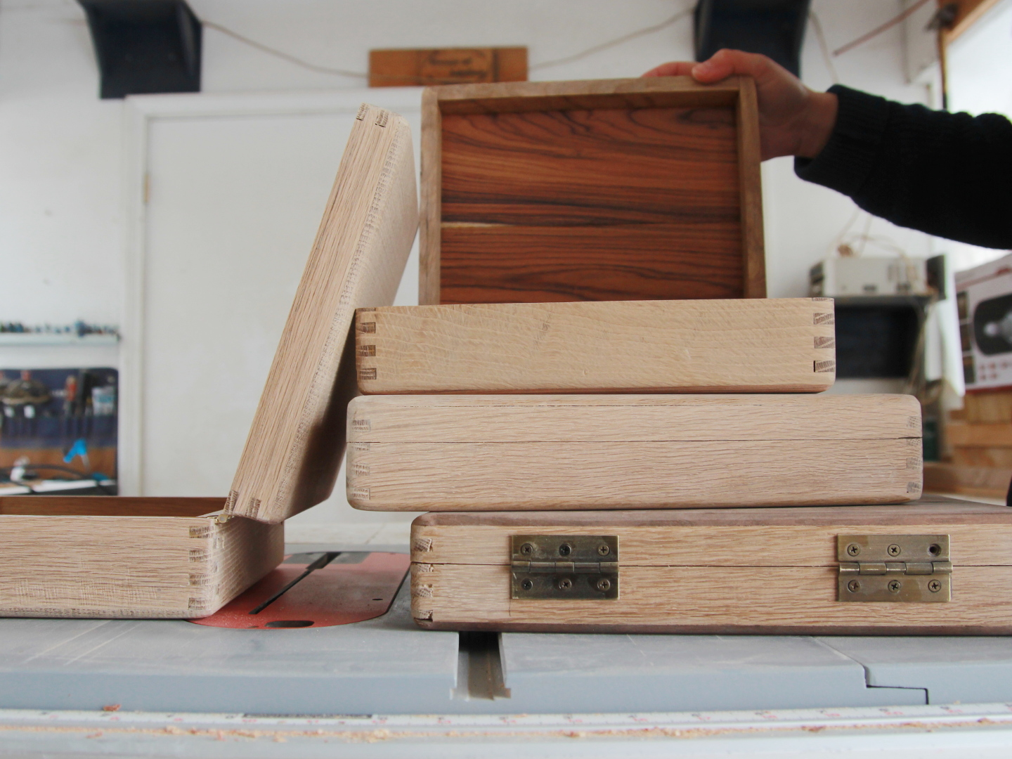 Picture of Making Wooden Boxes With Box Joints