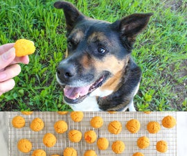 Sweet Potato Dog Treats Recipe