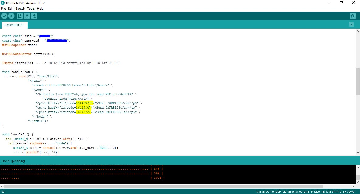 Picture of Encoding Code