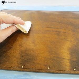 Seal Raw Wood With Hemp Oil