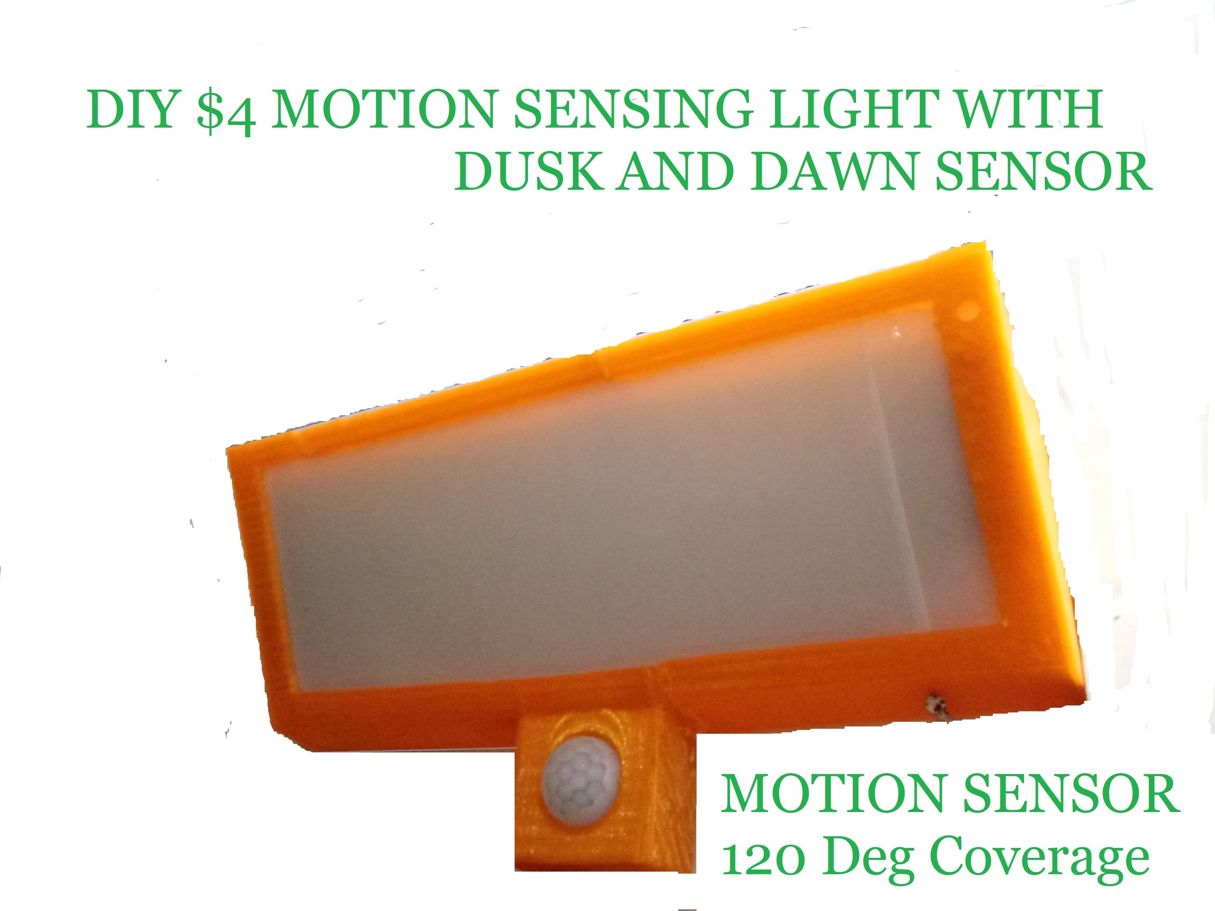 Picture of $4 Motion Sensor Bright Light