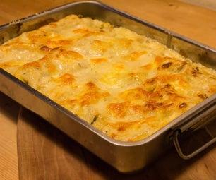 Champignon-Leek Lasagne