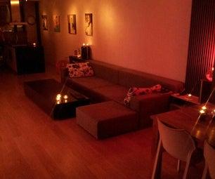 Lounge/Coffee Table on Wheels