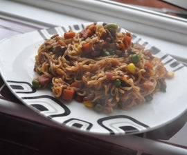 How to make awesome stir-fry noodles in less than 10mins!
