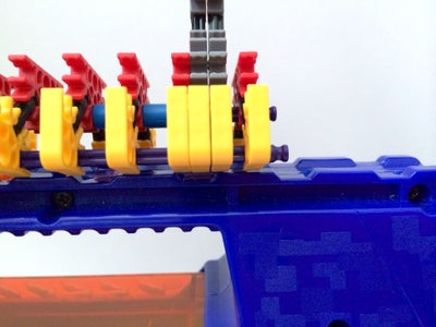 Attaching the Aligned Sight to a Nerf Blaster