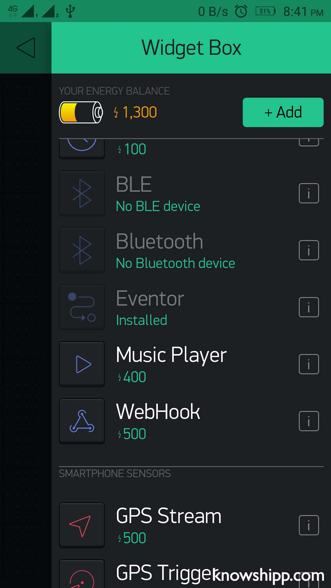 Picture of Let's Set Up the Blynk App