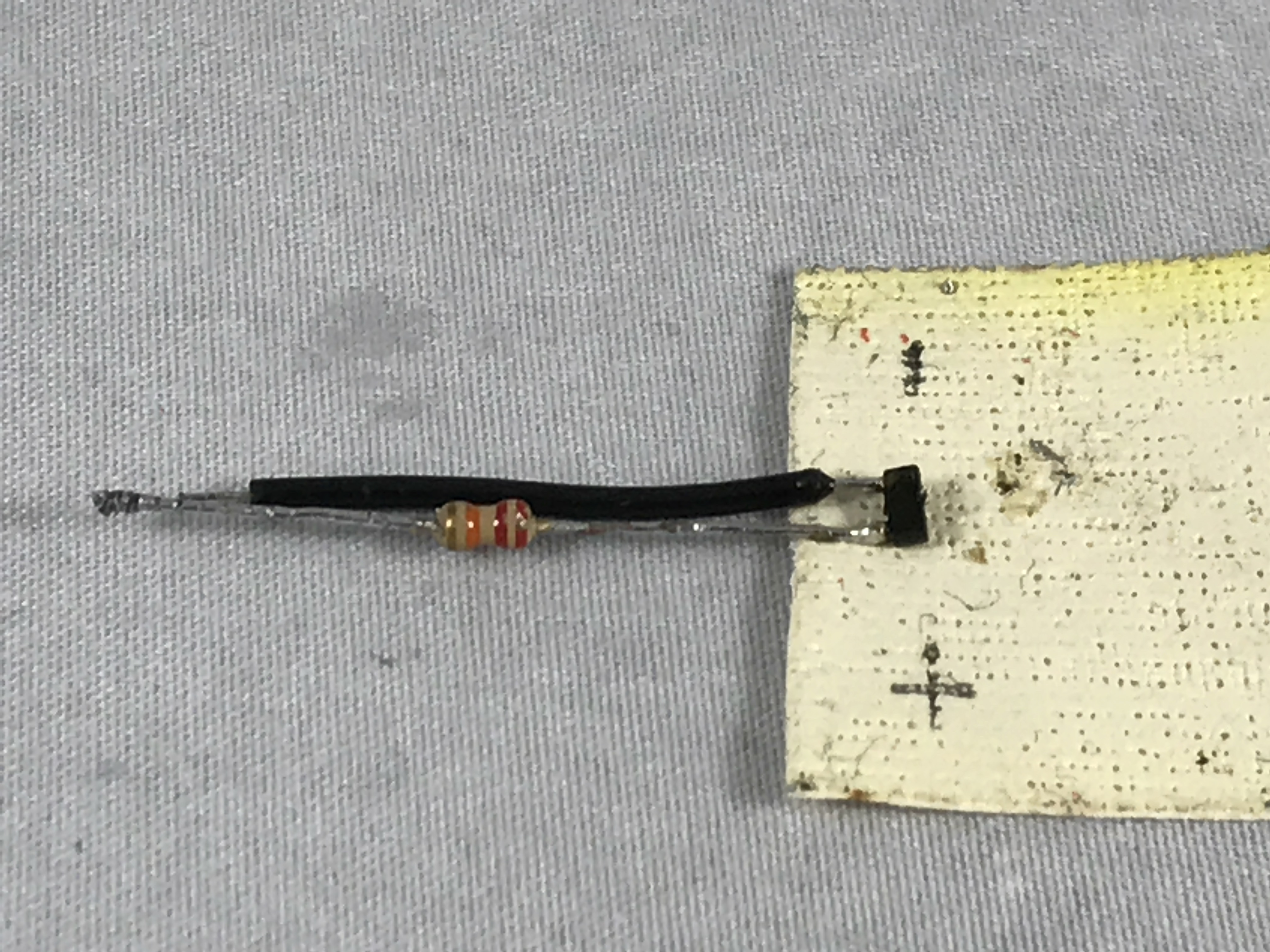 Picture of Assemble the Temperature Probe Connector.