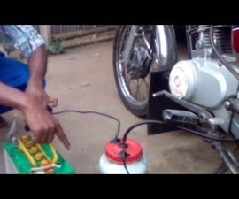 Motorbike Runs on Water-HHO-(hydrogen Gas)-without Petrol With Proof