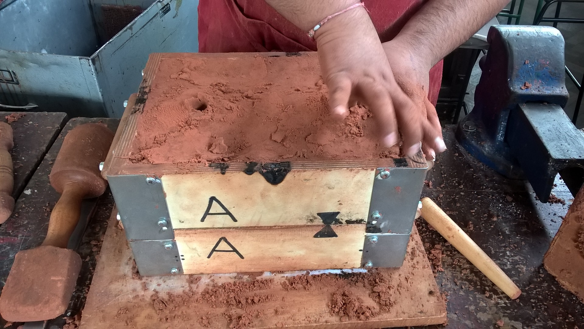 Picture of Sandcasting the Base