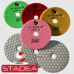 Get a Good Quality Diamond Dry Polishing Pads Set