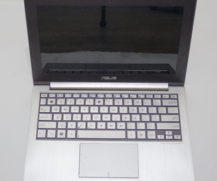 Replacing an Ultrabook (Asus UX21E) Keyboard