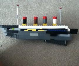 Lego Futuristic Titanic