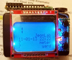 Distance Measuring (and More) Device Using Arduino and GPS