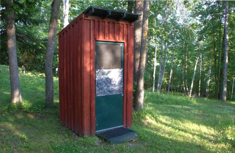 """Add a """"Flusher"""" to Your Favorite Outhouse"""