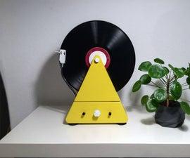 Custom Design Vertical Turntable