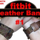 Laser Cut Leather Fitbit Band #1- Charge 1&2