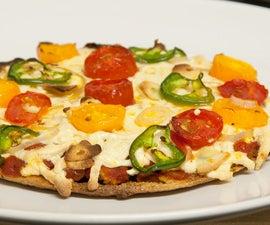 Quinoa Pizza Crust