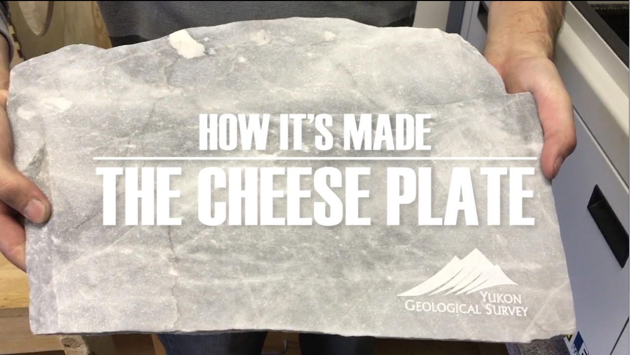Picture of How to Cut and Engrave a Stone Cheese Platter