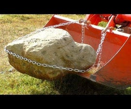 DIY Bucket Hooks for Small Tractors