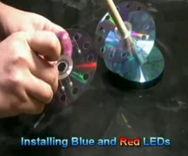 DIY : USB Pen Holder Out OF CDs