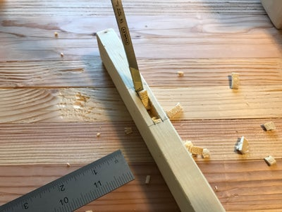 Chop the Mortises