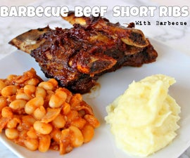 Oven Barbecue Beef Short Ribs