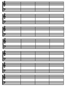 Reading Right Hand in Music Pt.1 (Spaces)