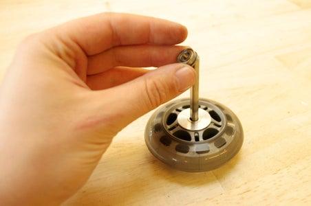 Assemble the Drive Wheel