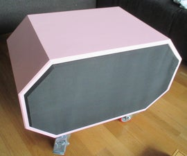 How to make a loud bluetooth enabled mobile speaker with subwoofer