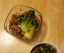 Taiwanese Style Beef Noodle Soup